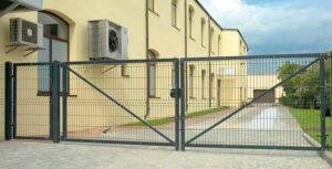 ворота еврозабор
