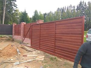 забор бессер дерево 2